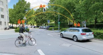 V2X platform helps preventing two-wheeler accidents