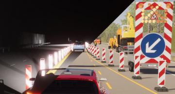 Software enables demanding camera tests in virtual driving trials