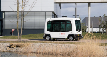 Bosch driverless e-Shuttle is fault tolerant