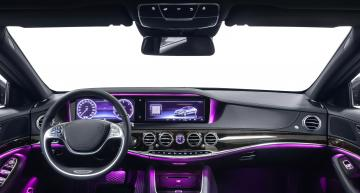 Dashboard and ambient lighting