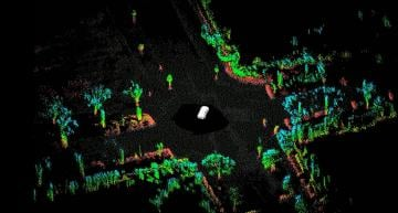 Cepton Lidar Point Cloud