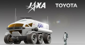 Toyota fuel cell-driven moon rover