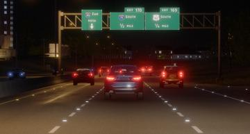 Software simulates automated driving