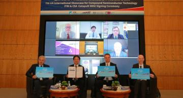 UK inks compound semiconductor MoU with Taiwan