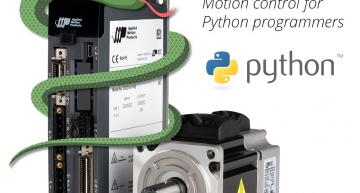 Free Python tools for Applied Motion's stepper and servo motors
