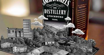 Jack Daniel's AR app turns whiskey bottles into pop-up books