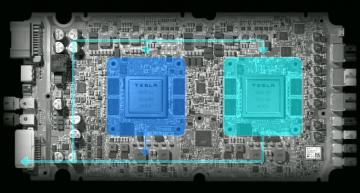 Tesla, Nvidia spar over 'best' autonomous FSD chip