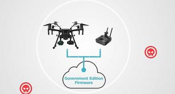High-security drone solution for government programs