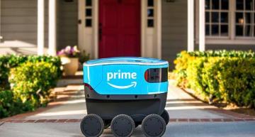 Amazon autonomous delivery robots roll out on California sidewalks