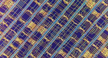 Microprocessor RISC-V à base de transistors nanotubes