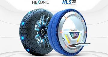 Concept tires win industrial design award