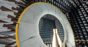 Anechoic chamber for testing Virtual Antenna™