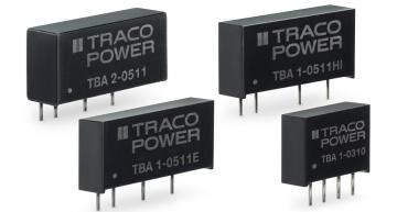 RS Components has introduced 1W and 2W DC-DC converter series from Traco Power