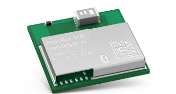 Compact Bluetooth 5.0 Low Energy module offers fast boot time