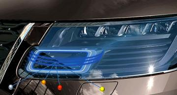 Headlamp with LiDAR integration to be shown at CES