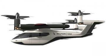 Uber, Hyundai Motor unveil air taxi partnership, concept vehicle