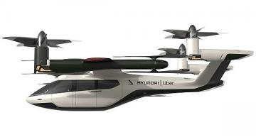 Uber, Hyundai Motor unveil air taxi partnership, concept vehicle