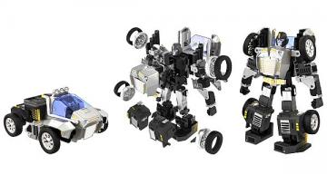 'Most advanced' programmable robot is both vehicle and robot