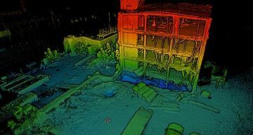 Autonomous drone maps 3D models of dense urban environments