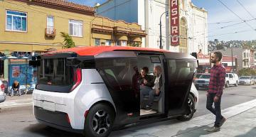 GM Cruise 'reimagines transportation' with electric robo-shuttle