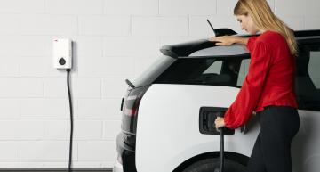 ABB has launched the Terra 22kW connected EV charger wallbox for use in the home