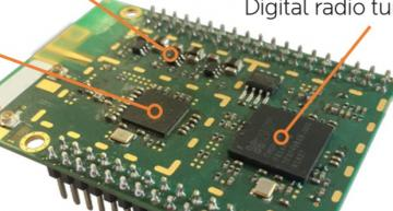 Frontier adds Covid-19 links to its digital radio chips