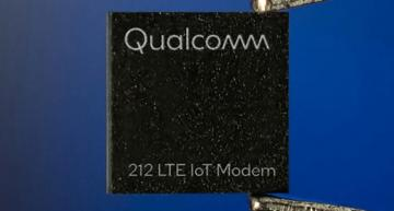 Qualcomm Technologies 212 LTE NB-IoT cellular modem chip for the Internet of Things (IoT)