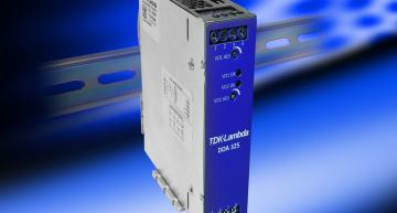TheTDK-LambdaDDA series ofDIN rail power supply uses accepts a DC inputof9 to 53Vdcand provide output voltages between 3.3 to 24V.