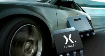 Nexperia has launched the industry's first p-channel MOSFET family in the LFPAK56 (Power-SO8) package.