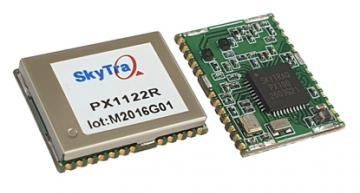 Small multi-band GNSS receiver with 1-cm position accuracy