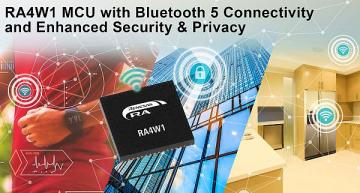 IoT MCU has Bluetooth 5, enhanced security and privacy
