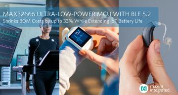 Ultra-low-power microcontroller with Bluetooth BLE 5.2 targets IoT