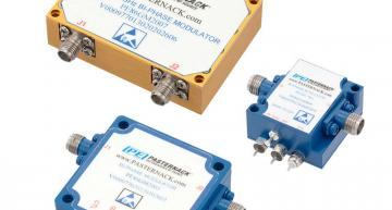 Bi-phase modulators operate in bands from 0.5 to 40 GHz