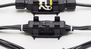 Harting is aiming its Han 1A rectangular connector system at industrial Ethernet with two new data inserts