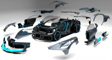 Bugatti pushes VR design of Divo supercar