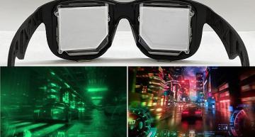 Near-eye displays for VR use holographic optics