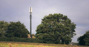 A Vodafone mast for rural areas