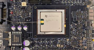 Processeur photonique pour une IA plus rapide