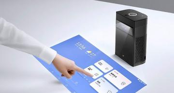 AI-powered interactive touchscreen projector launches