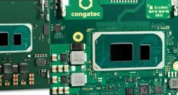 The COM-HPC Client size A module conga-HPC/cTLU and COM Express Compact conga-TC570 from congatec use Intel's Gen11 Tiger Lake processor