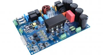 Silicon carbide 1200V SiC board for 7.5kW motor drives