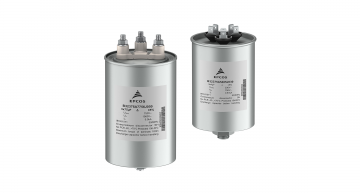 Solder-free rugged three-phase AC filter capacitors