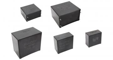 Vishay's MKP1848H AEC-Q200 qualified metallized polypropylene DC-link capacitors withstand THB humidity testing