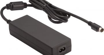 The TTG160 160W AC-DC adapter from TRUMpower uses GaN FETs for an efficiency up to 93 percent and power density of 10W/cu in