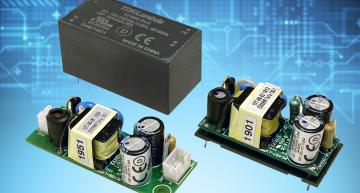 TDK's KPSB6 and KPSB25 PCB-mounted AC-DC converters support 6W to 25W power with a cost reduction.