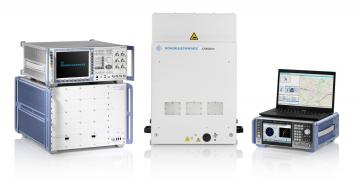 Rohde & Schwarz 5G LBS with Assisted-GPS and 5G NR FR2 mmWave testing
