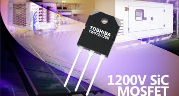 Toshiba ships 1200V Silicon Carbide (SiC) MOSFET