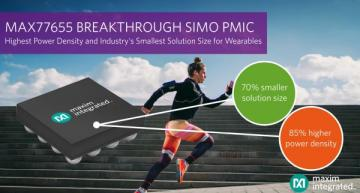 PMIC addresses wearable, AI edge space constraints