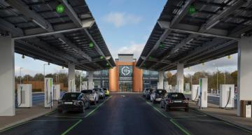 ABB powers UK's first dedicated electric forecourt