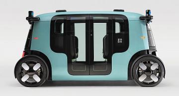 Zoox unveils autonomous, purpose-built robotaxi